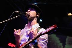 Paul Smith (musikband) perfoms på den Faktoria d'Artsde Terrassa etappen Arkivfoton