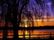 paul st-solnedgång Arkivfoton