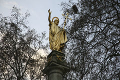 paul st statua Obraz Royalty Free