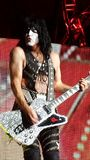 Paul Stanley Kiss Tour Images libres de droits