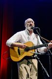 Paul Stookey at Performance. ST. PETERSBURG, FLORIDA - FEBRUARY 18, 2012: Paul Stookey, best known as Paul in the folk trio Peter, Paul and Mary, sings at The Stock Photography