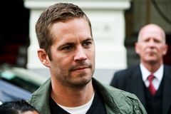 Paul Walker. At a hotel in Amsterdam Stock Photos