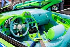Paul Walker Fast &Furious Mitsubishi förmörkelse Royaltyfri Fotografi