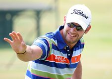 Paul Waring (eng) at the golf French Open 2009 Royalty Free Stock Photo