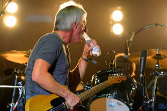 Paul Weller (singer, songwriter and musician) performs at FIB Festival Stock Photography