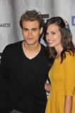 Paul Wesley, Torrey De Vitto. Paul Wesley & Torrey DeVitto at the 2011 Spike TV Scream Awards at Universal Studios, Hollywood. October 15, 2011 Los Angeles, CA Stock Photography