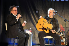 Paul Williams and Randy Bachman Royalty Free Stock Photos