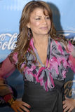 Paula Abdul appearing on the red carpet. Stock Photos