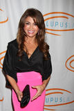 Paula Abdul arrives at the 12th Annual Lupus LA Orange Ball Stock Photography