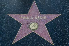 Paula Abdul Hollywood Star Royaltyfri Foto