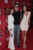 Paula Abdul, Nicole Scherzinger, Simon Cowell Stock Image
