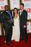 Paula Abdul, Randy Jackson, Simon Cowell Stock Photos