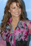 Paula Abdul on the red carpet. Paula Abdul appearing on the red carpet for American Idol Stock Photo