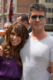 Paula Abdul,Simon Cowell Royalty Free Stock Photography