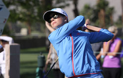 Paula creamer at the ANA inspiration golf tournament 2015 Stock Photo