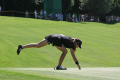 Paula Creamer Evian 2007 Stock Photos