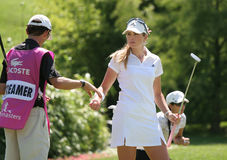 Paula Creamer Evian 2007 Stock Photo