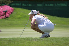 Paula Creamer Evian 2007. LPGA golf Tour Royalty Free Stock Image
