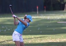 Paula Creamer at golf Evian Masters 2012 Royalty Free Stock Photos