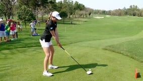 Paula Creamer in Honda LPGA Thailand 2016. CHONBURI - FEBRUARY 27: Paula Creamer of USA in Honda LPGA Thailand 2016 at Siam Country Club, Pattaya Old Course on