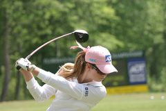 Paula Creamer, LPGA golf Tour, Stockbridge, 2006 Stock Photography