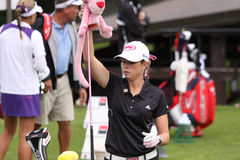Paula Creamer (USA) Evian Masters 2011 Stock Photo