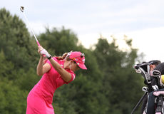 Paula Creamer (USA) Evian Masters 2011 Stock Images