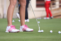 Paula Creamer (USA) Evian Masters 2011 Royalty Free Stock Photo