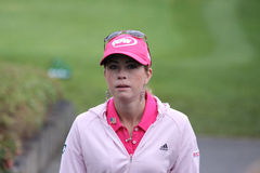 Paula Creamer (USA) Evian Masters 2011 Royalty Free Stock Photos