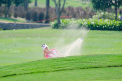 Paula Creamer of USA in Honda LPGA Thailand 2016 Stock Image
