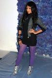 Paula DeAnda au jour deux de la semaine 2007 de mode de benz de Mercedes. Studios de Smashbox, ville de Culver, CA 10-15-07 Image stock