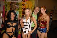 Paula LaBaredas, Phoebe Price, Alicia Arden Foto de Stock Royalty Free