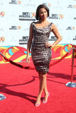 Paula Patton. Arriving at  the BET Awards 2009 at the Shrine Auditorium in Los Angeles, CA on June 28, 2009 Royalty Free Stock Image