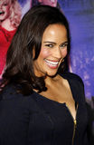 Paula Patton. At the Los Angeles premiere of 'Joyful Noise' held at the Grauman's Chinese Theatre in Hollywood on January 9, 2012 Royalty Free Stock Images