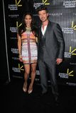 Paula Patton, Robin Thicke at the Sundance Institute Benefit Presented by Tiffany & Co., Soho House, Los Angeles, CA 06-06-12 Royalty Free Stock Image