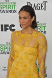 Paula Patton. SANTA MONICA, CA - MARCH 1, 2014: Paula Patton at the 2014 Film Independent Spirit Awards on the beach in Santa Monica, CA Stock Images