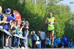 Paula Paulo Roberto - Prague marathon 2015 Royalty Free Stock Photo