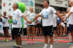 Paula Radcliffe charity run. Royalty Free Stock Image