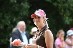 Paula-Rahmtopf Evian Golf erarbeitet 2006 Lizenzfreies Stockfoto