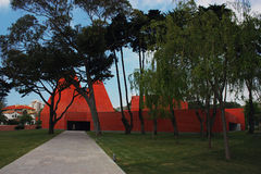 Paula Rego Museum in Cascais, Portugal Royalty Free Stock Photography