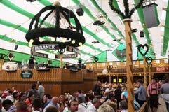 Paulaner-Zelt (Oktoberfest 2013) stockfotografie