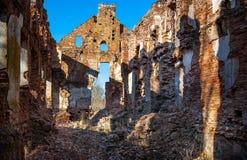 Paulavos-Republik in Litauen Alte Ziegelstein-Ruinen Besichtigungsgegenstand in Litauen Lizenzfreie Stockfotografie