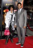 Pauletta Pearson and Denzel Washington Stock Photography