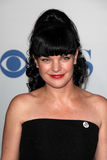 Pauley Perrette. LOS ANGELES - JAN 11:  Pauley Perrette arrives at  People's Choice Awards 2012 at Nokia Theater at LA Live on January 11, 2012 in Los Angeles Royalty Free Stock Photography