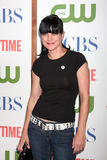 Pauley Perrette. LOS ANGELES - AUG 3:  Pauley Perrette arriving at the CBS TCA Summer 2011 All Star Party at Robinson May Parking Garage on August 3, 2011 in Stock Image