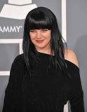 Pauley Perrette. At the 54th Annual Grammy Awards at the Staples Centre, Los Angeles. February 12, 2012  Los Angeles, CA Picture: Paul Smith / Featureflash Royalty Free Stock Photos
