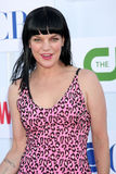 Pauley Perrette. LOS ANGELES - JUL 29:  Pauley Perrette arrives at the CBS, CW, and Showtime 2012 Summer TCA party at Beverly Hilton Hotel Adjacent Parking Lot Royalty Free Stock Photography