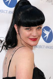 Pauley Perrette. LOS ANGELES - AUG 18:  Pauley Perrette arrives at the 17th Annual Angel Awards at Project Angel Food on August 18, 2012 in Los Angeles, CA Stock Photography