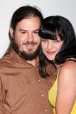 Pauley Perrette,The Fall. Pauley Perrette & husband arriving at the CBS Fall Preveiw Party My House  Club Los Angeles, CA September 16, 2009 Stock Photos