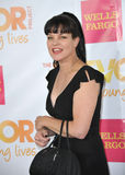 Pauley Perrette. LOS ANGELES, CA - DECEMBER 7, 2014: Pauley Perrette at the 2014 TrevorLIVE Los Angeles Gala at the Hollywood Palladium Stock Photography